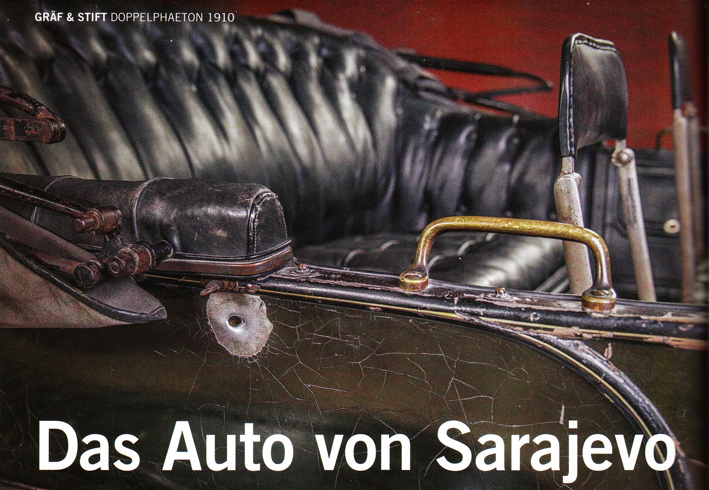 Das wohl geschichtsträchtigste Auto der Welt existiert bis heute in Wien.