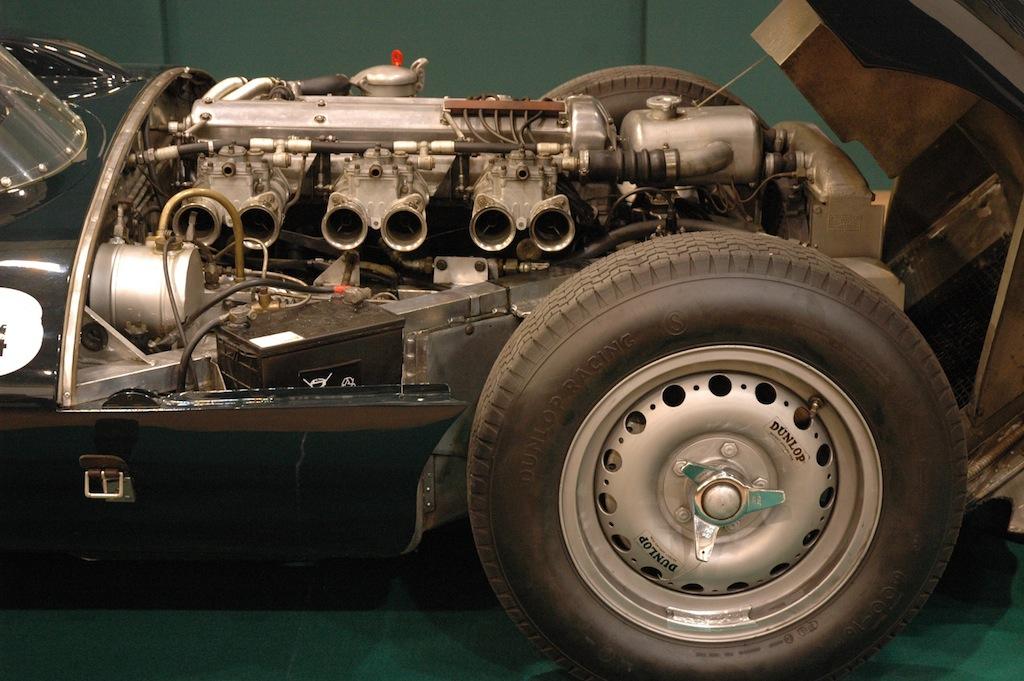 Jaguar D-Type Detail Kopie