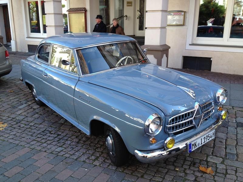 Borgward Hansa 1500 1954