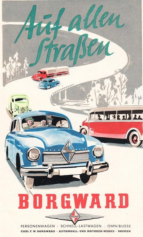 Borgward Hansa 1950