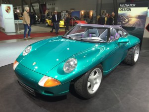 Porsche Studie Panamericana 1989 6B 3600cc 250PS Kopie