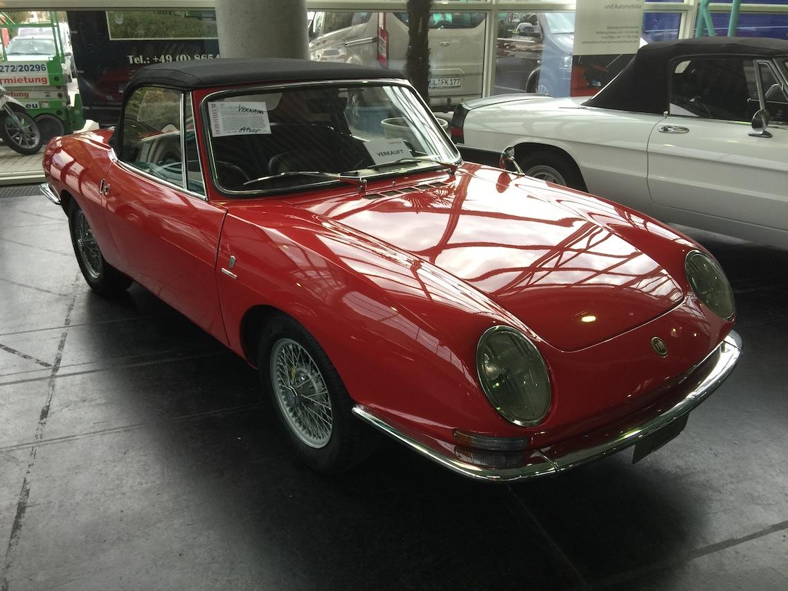 Fiat 850 Spider 1 1967 17,9K Kopie