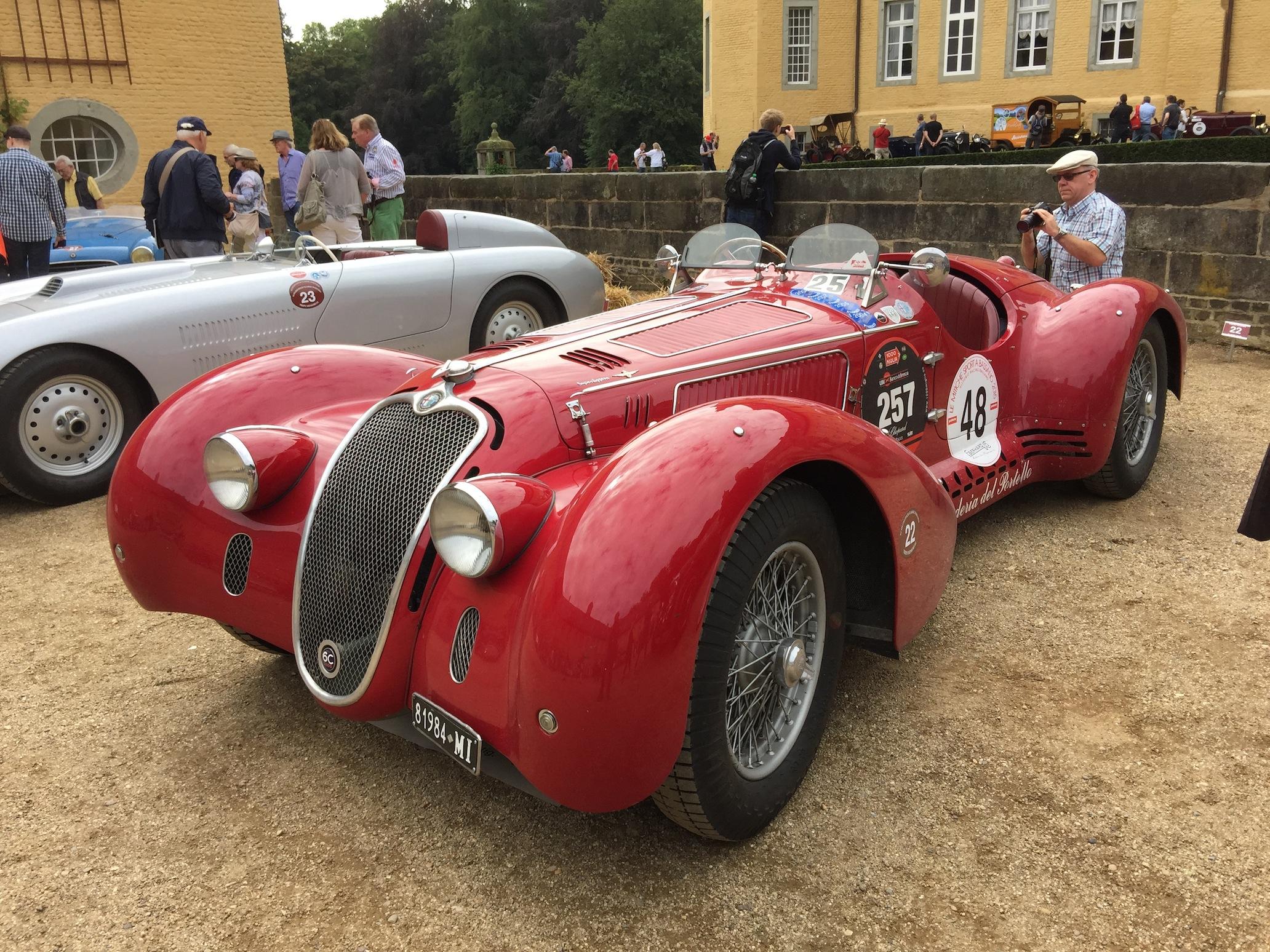 Alfa 6C 2500 SS Super Sport Corsa Spider 1939